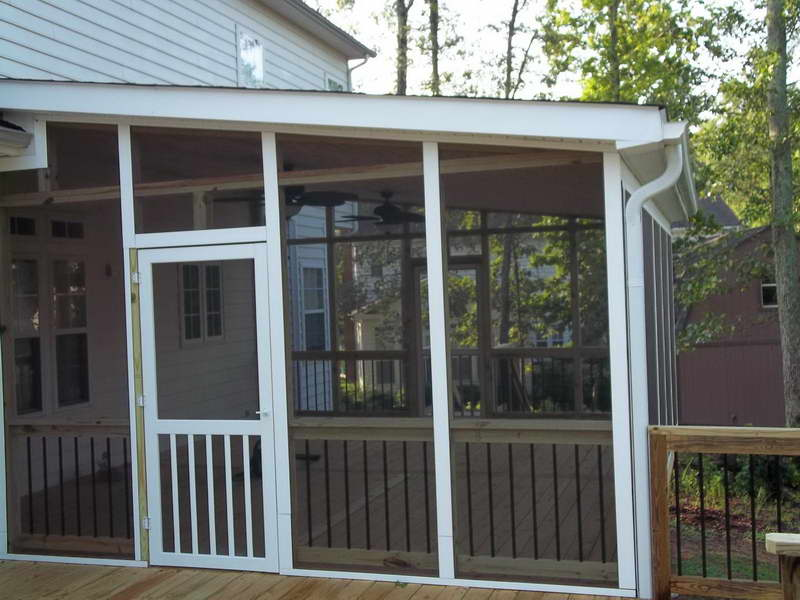 ... Screen Porch Systems: With Screen Porch Railing Systems Design