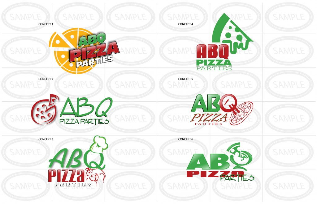 Logo Design - Web Logo Design Example - Pizza Business