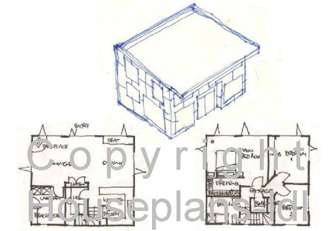 House Plans With Photos, Unique Home Designs, Cottage Plans