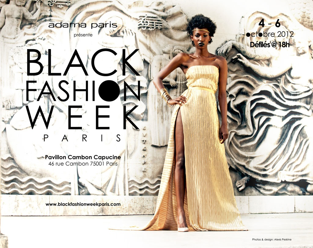 BLACK FASHION WEEK PARIS : Castings==> Models et Designers !!