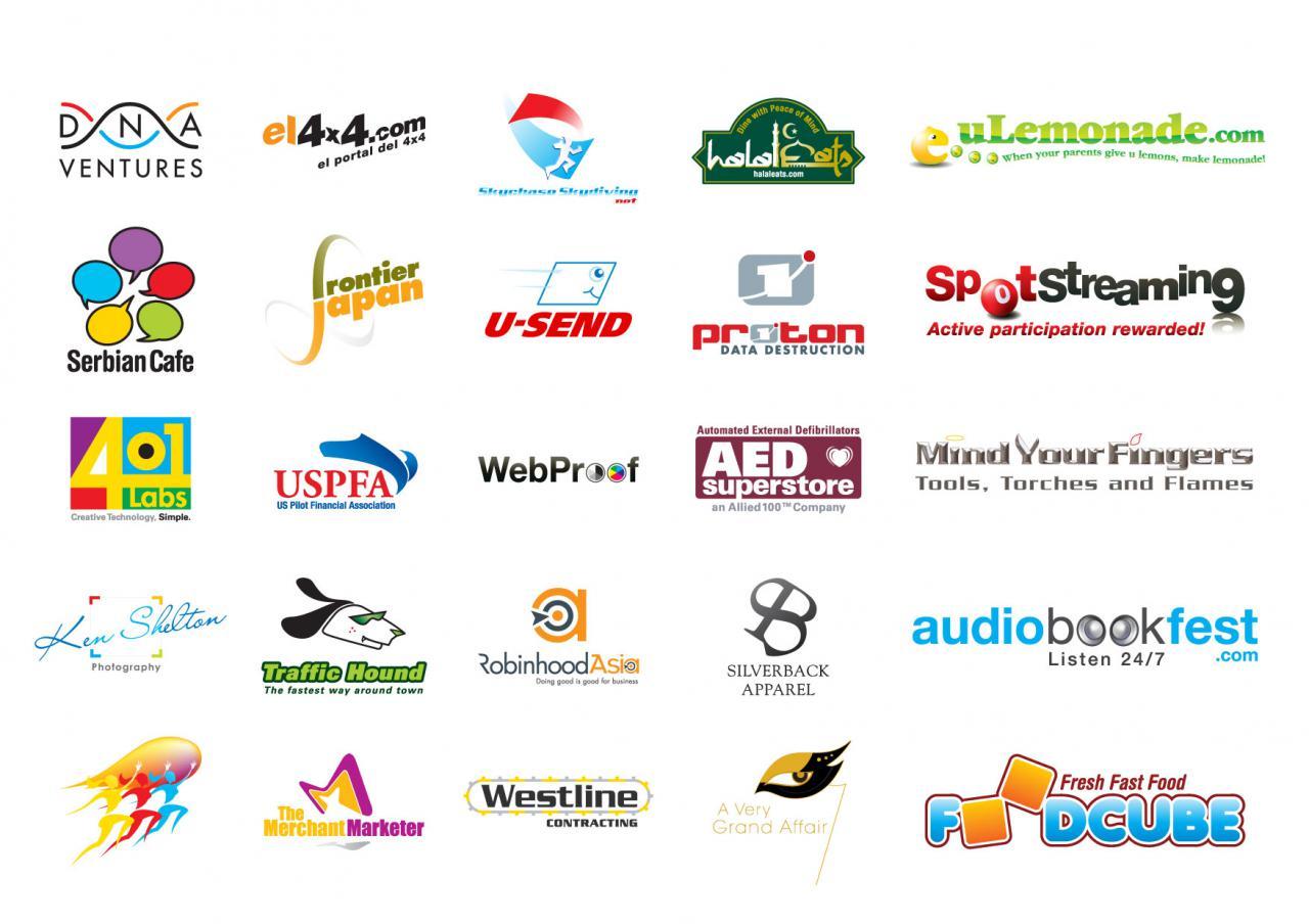 Logo Design Ideas | Design Your Own Business Logo | Cool Logo Design ...