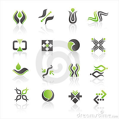 Company Logo Design Examples Royalty Free Stock Images - Image ...