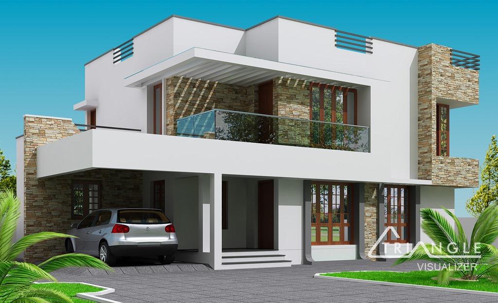 Modern Kerala Home Design at 2300 sq.ft