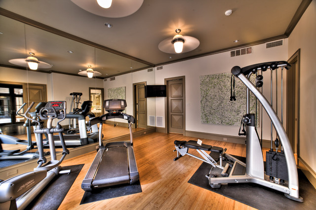 Exercise Room - Contemporary - Home Gym - other metro - by Platinum ...