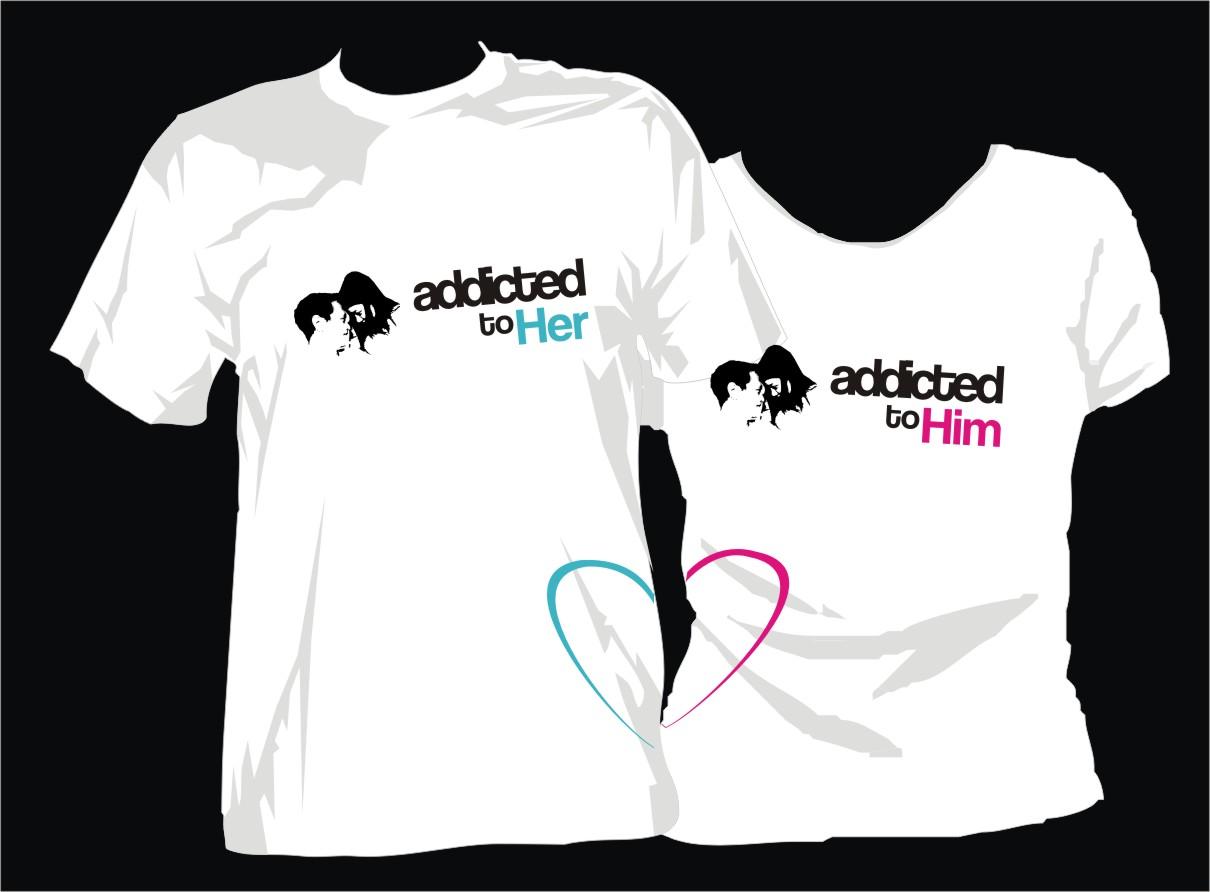 couple t shirt | Photoshop Tutorial - Graphic Design