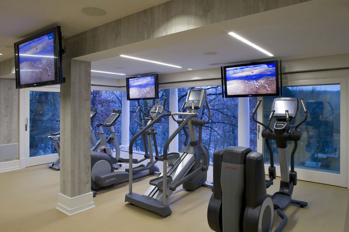 Cozy Home Gym Ideas Wall listed in: own home gyms,
