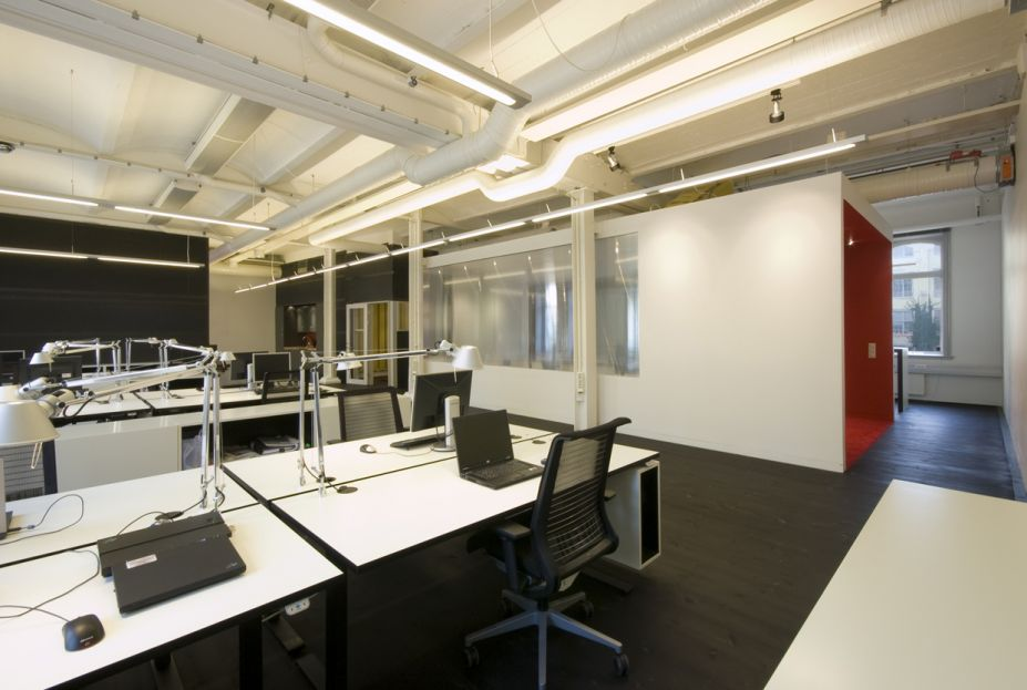 ... Efficiently - Unique Space Office Interior Design Ideas Office Design