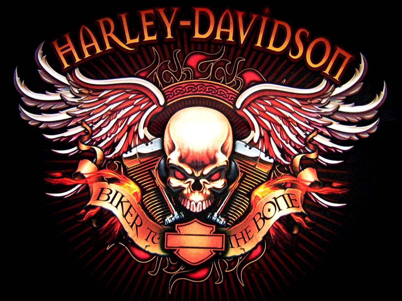 Harley Davidson logo skull bikes motorcycle wallpaper | 1600x1200 ...