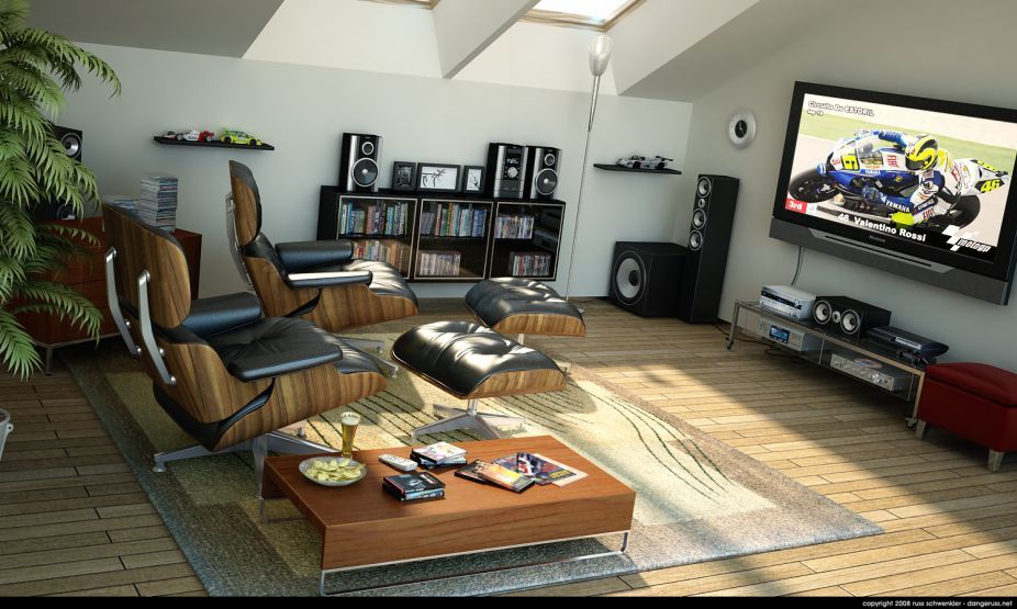Featured Home Entertainment Design Ideas Small Home Theater Room 3738 ...