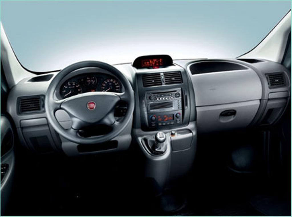Fiat Scudo Chasis Plancher, vista interior, furgoneta fiat
