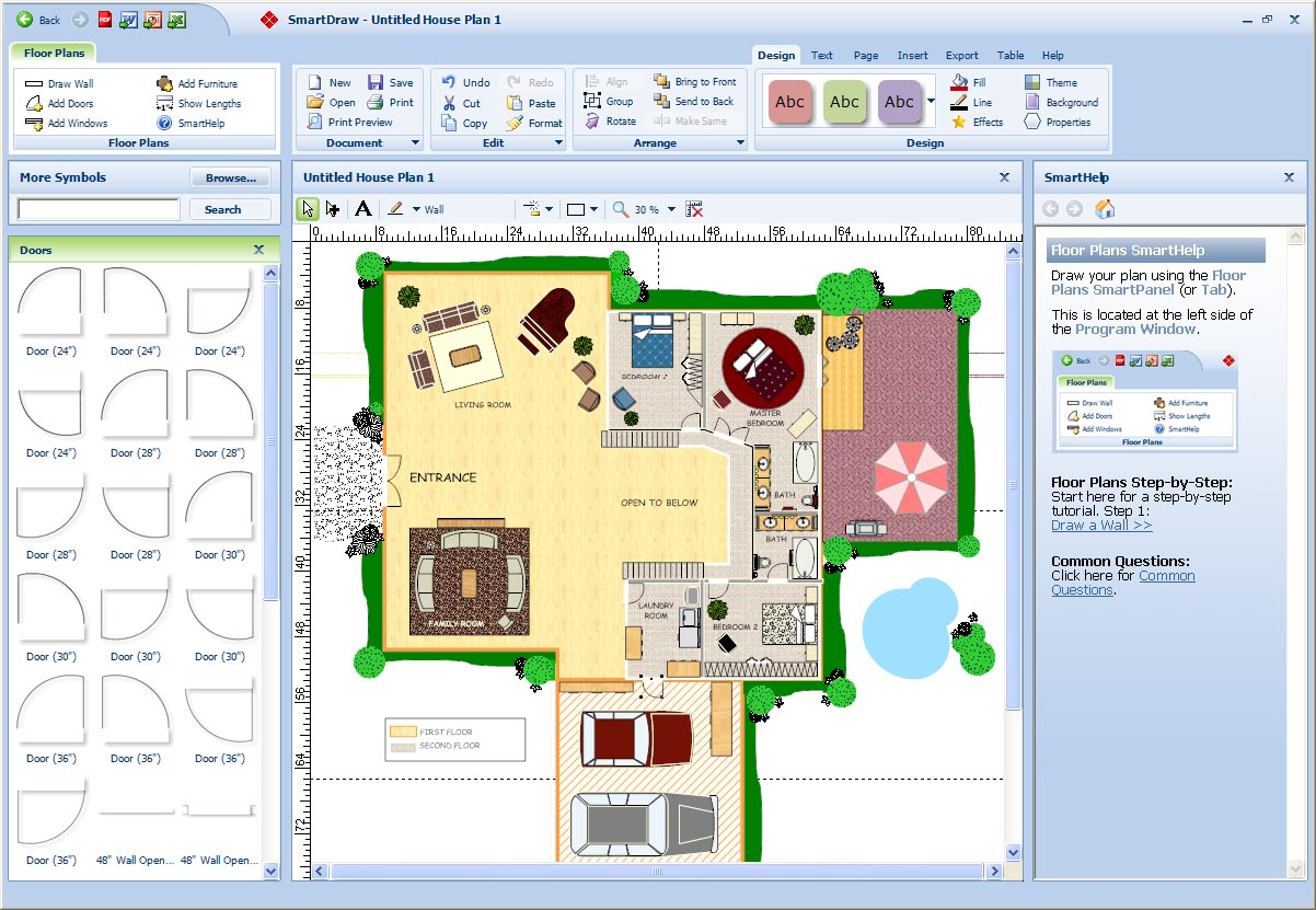 There are numerous such free home design software programs available ...
