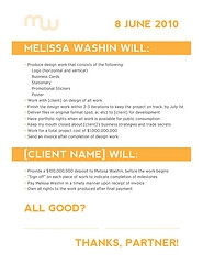 Freelance Graphic Design Contract | Gabriel Boz Graphic Design