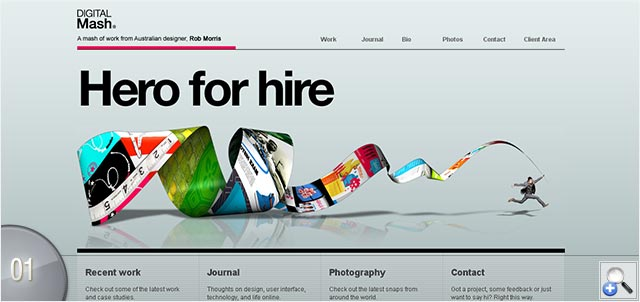 90 Inspirational And Creative Portfolio Designs | InstantShift