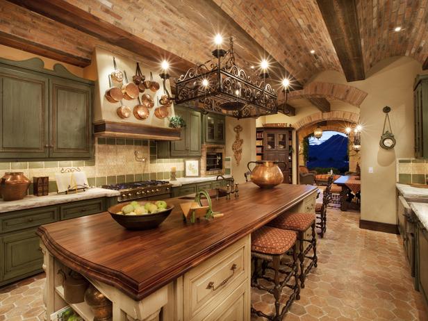 HOME DECOR IDEAS: Italian Kitchen Decor Style Ideas