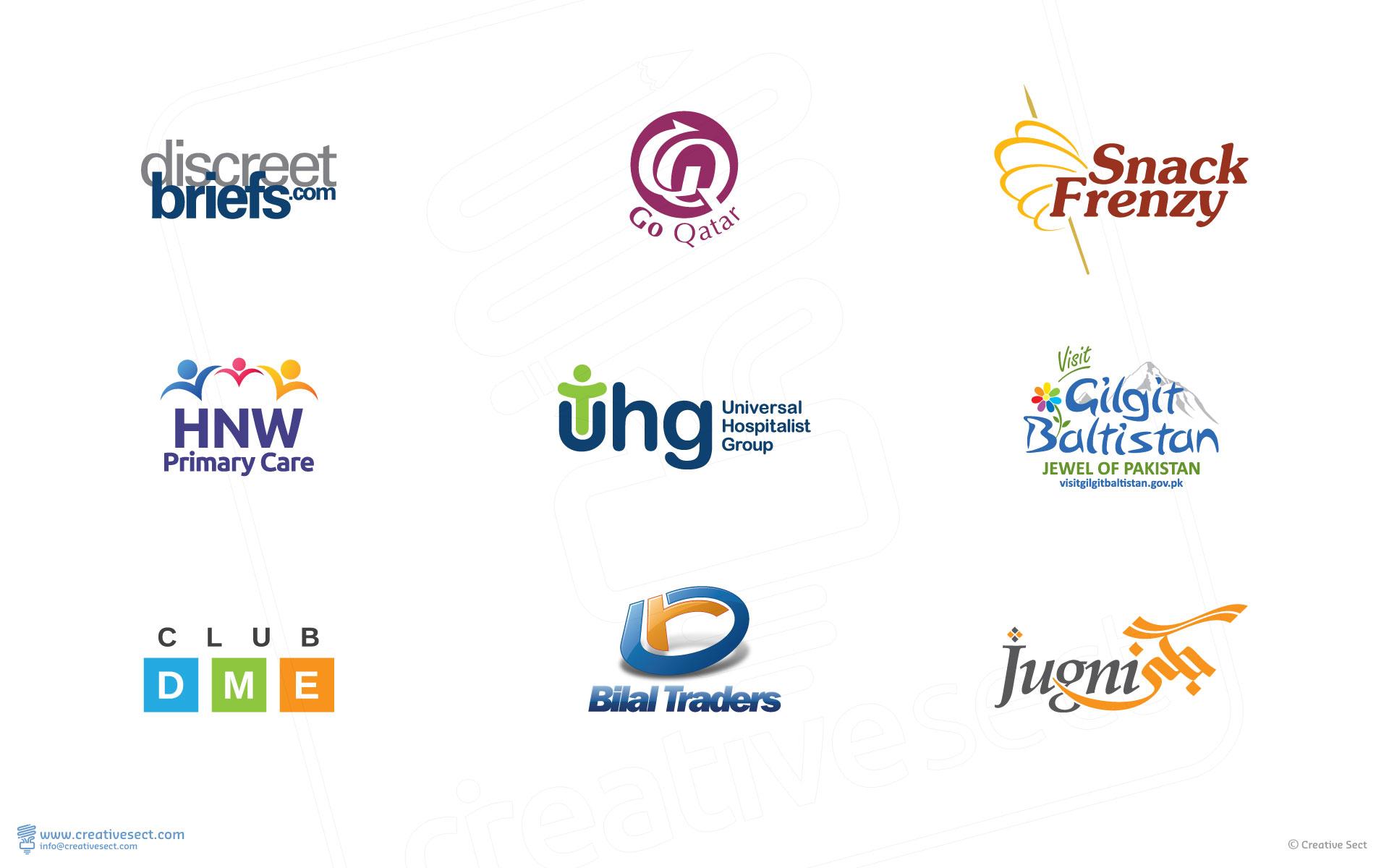 Creative Logo Design Examples | Mazhar Hussain Portfolio