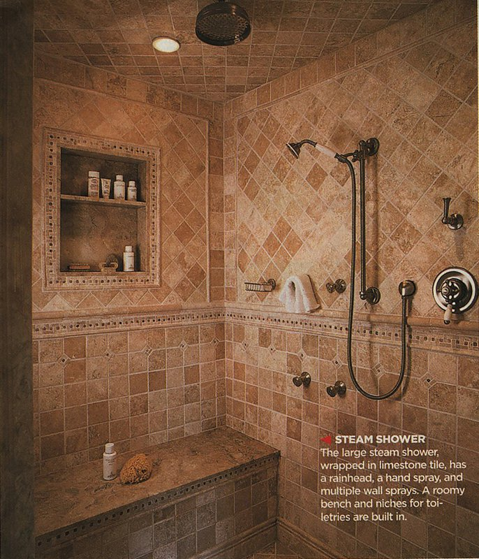 Our Master Bathroom & Spa Shower Plans | Fun Times Guide to Log Homes