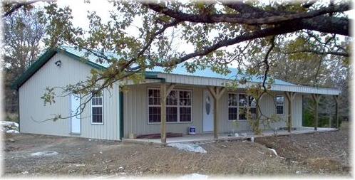Pole Barn House | Milligan's Gander Hill Farm