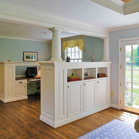 Wall2Wall NY Tips: Bookshelf Room Divider Sample Designs