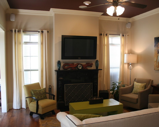 Ideas With Fireplace And Tv As Small Living Room – Nice Design Ideas ...