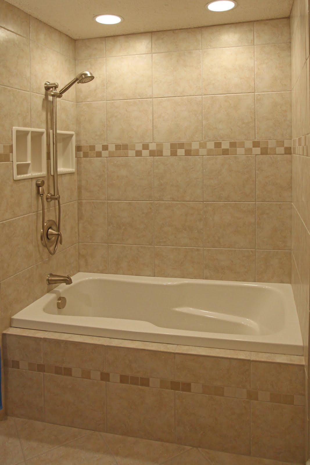 Garden And Home: Small bathroom tile design ideas