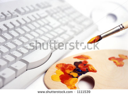 Computer Graphic Design on Computer Graphic Design Stock Photo 1111539 ...