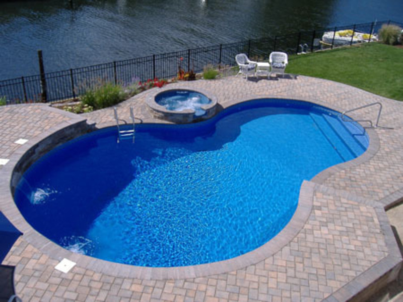 Swimming Pool Design / design bookmark #10539