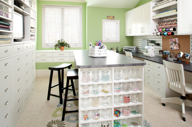 Craft Rooms Designs