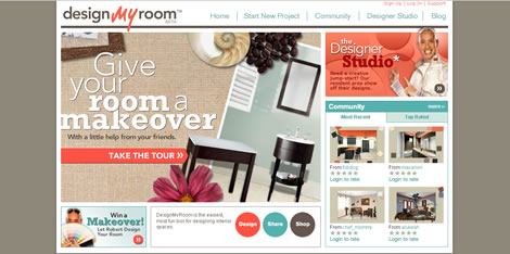 Mit Design My Room ist es möglich, eine Wohnung online einzurichten ...