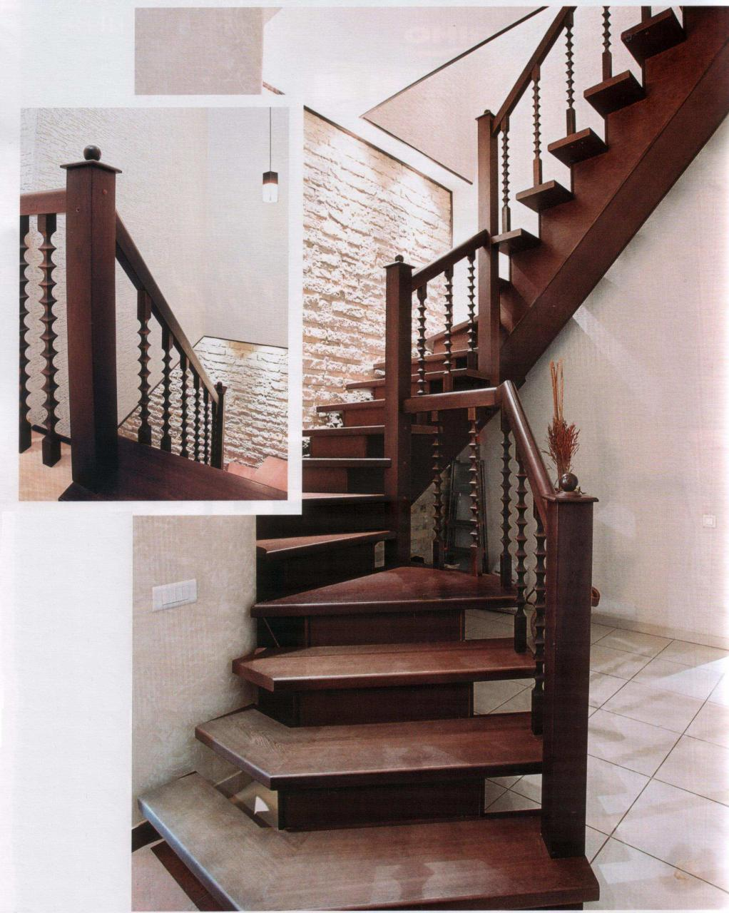 Wood Staircase Home Interiors Stylish Home Designs - Beautiful Wooden ...