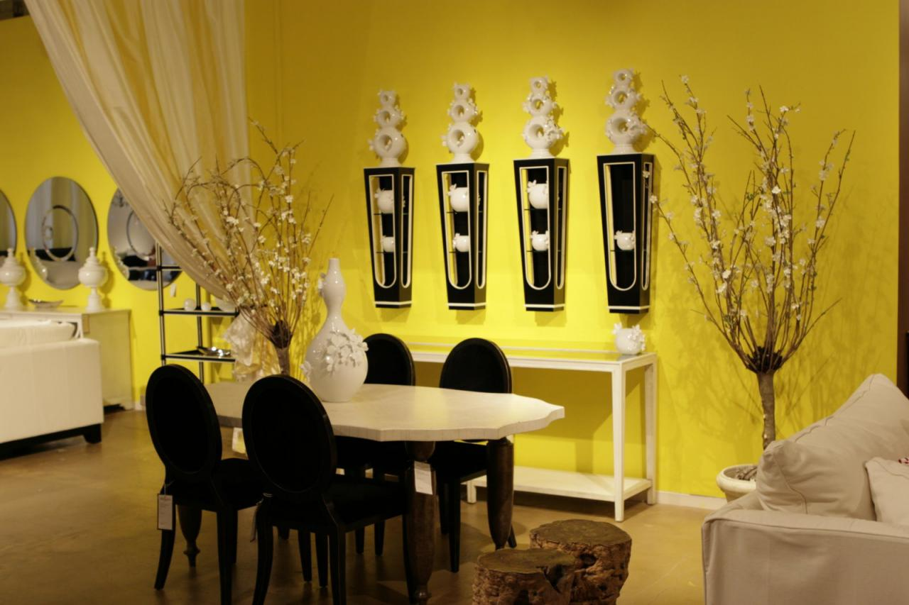 Yellow Interior Design Ideas for Rooms, Kitchens and Bathrooms